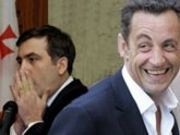 Sarkozy brings rotten carrot to Georgia. 23004.jpeg