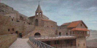 Монастырь Давид Гареджи: а были ли пограничники?. 27196.jpeg