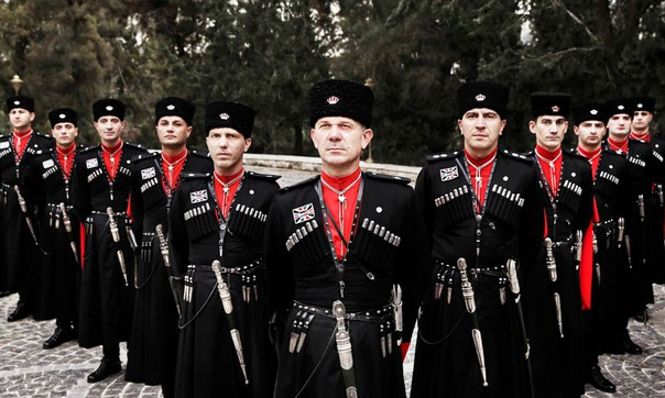 Черкесские телохранители иорданского короля
