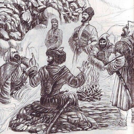 Секретные материалы о черкесских абреках