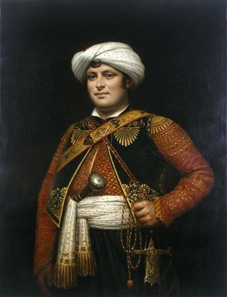 Телохранитель и оруженосец императора Наполеона Рустам Раза