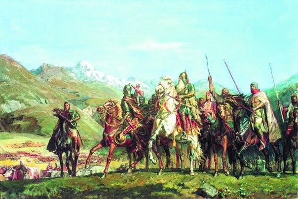 Через эпические сказания и сохранившиеся обычаи осетин легко угадывается древнее религиозное мировоззрение