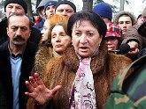 Dzhioeva's supporters prepare her inauguration. 25281.jpeg