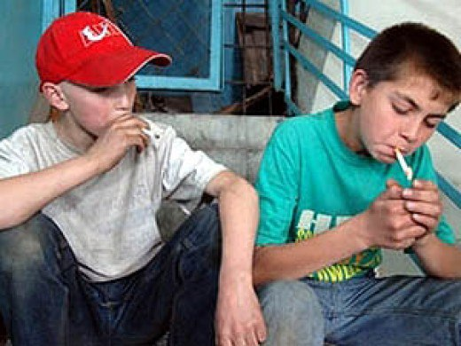 В Северной Осетии курить начинают с 9-летнего возраста