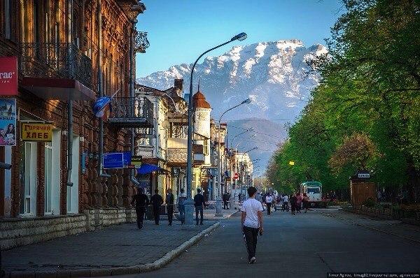 Владикавказ - любимый город