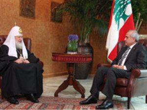 Ливан меж трех огней. Мишель Сулейман и Патриарх Кирилл в Бейруте
