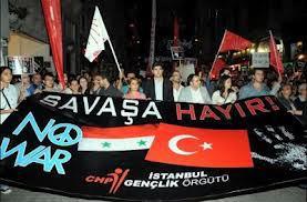 Хотят ли в Турции войны?. Антивоенная демонстрация в Турции