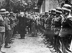 Вторая мировая война на Ближнем Востоке. Муфтий Хусейни и солдаты СС
