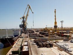 Судьба Ирана в руках России?. Астраханский порт сегодня