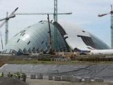 Saakasvili's parliament has holey roof. 28547.jpeg