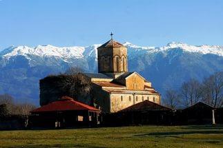 Единственное абазинское поселение на территории Абхазии. 30576.jpeg