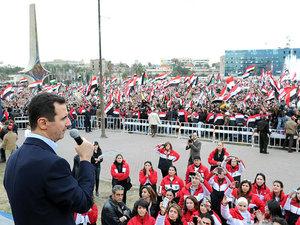 Карта кровавых восточных границ. Сирийский народ готов умереть за Башара Асада