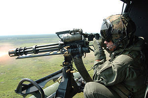 Михаилу Саакашвили подложили бомбу. пулемет M134 Minigun