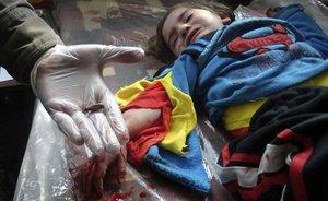 Смертельный репортаж из Сирии. кто убил этого ребенка?