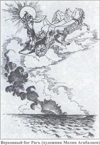 Античный пантеон богов у лезгин
