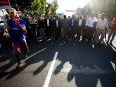 В центре Еревана бастовали владельцы ларьков. 20862.jpeg