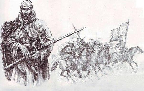 Оружие и экипировка черкесского воина