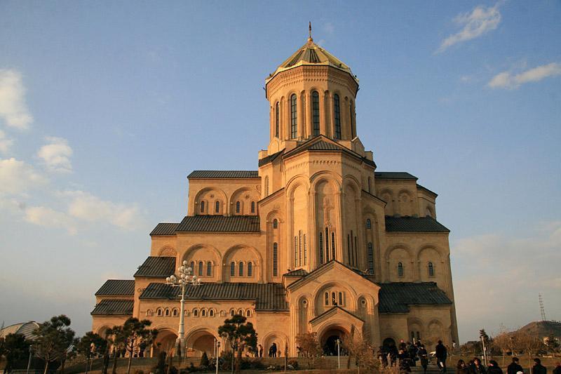 """Кахабер Гоготишвили: """"Азербайджанское государство оказало значительную помощь Грузинской православной церкви"""". 29932.jpeg"""