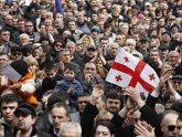 Параллельно с выступлениями президентов в Тбилиси митингуют. 22973.jpeg