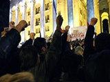 Ретроспектива протестных акций: черное и белое