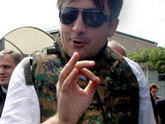 Саакашвили попросили спрятать дулю
