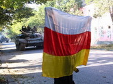 """Vostok"": scared Georgians flee"