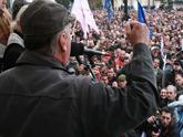 Грузинская  оппозиция вновь обещает бороться до конца