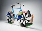 Саакашвили изобретает революционный велосипед