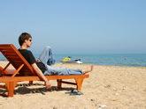 Дагестанским туристам море по колено