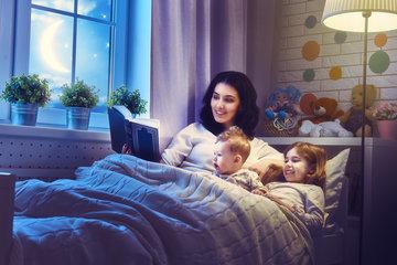 11 преимуществ чтения сказок на ночь для детей