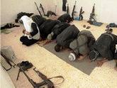 Wahhabites making war preparations in Pankisi