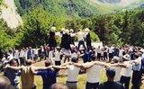 Знаменитый осетинский танец Симд