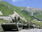 Полку российских военных в Южной Осетии прибывает