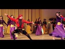 Аджарский танец Гандаган
