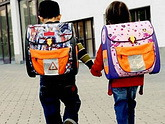 A schoolbag from Saakashvili