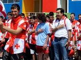 Саакашвили отправляет патриотов в лагерь