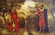 Под солнцем палящим раскинулся гордо могучий Кавказ