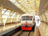 Поезд  Тбилиси-Аэропорт  спустили на тормозах
