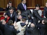 Грузинский парламент: драка в прямом эфире