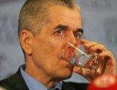 Onishenko tired of pouring Borjomi