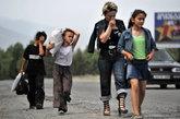 Грузинские беженцы возвращаются в свои села