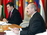 Lukashenko spoiling Saakashvili's feast