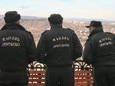 Полиция берет грузин в руки