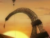 Эйфелева башня  с батумским уклоном