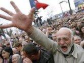 Грузинский марш в Абхазию