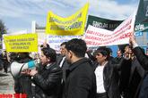 Митинговая активность в Азербайджане